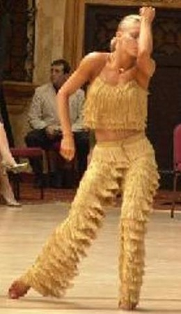 Fav dance video-Yulia's AMAZING samba... and I SO LOVE THOSE FRINGE PANTS!!!!!